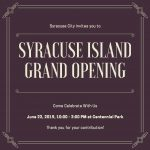 syracuse-island-grand-opening-flyer