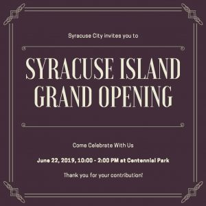 syracuse-island-grand-opening-flyer
